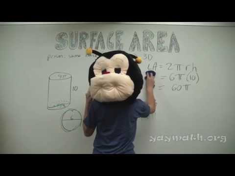 Geometry – Surface Area of Cylinders