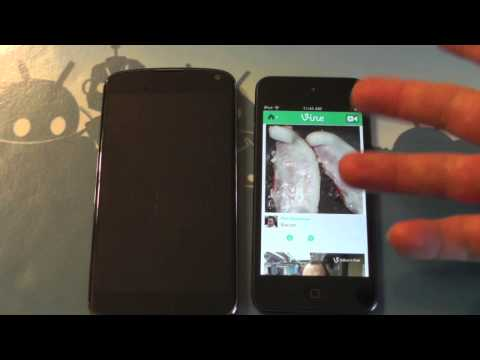 Vine video sharing - what's it mean for Android?