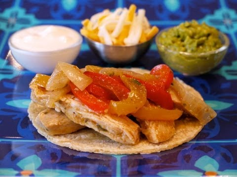 Recipes for Kids: How to Make Chicken Fajitas for Children - Weelicious