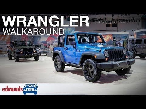 2016 Jeep Wrangler Walkaround Review
