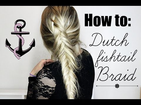 HOW TO: Dutch Fishtail Braid tutorial | Step by Step | Valerie Pac