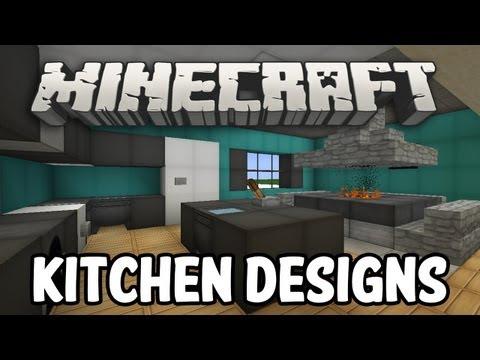 Minecraft Interior Design - Kitchen Edition