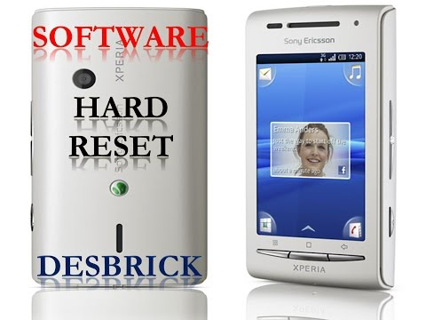 Firmware Sony Ericsson X8 E15i / Software / Hard Reset / Solved Done
