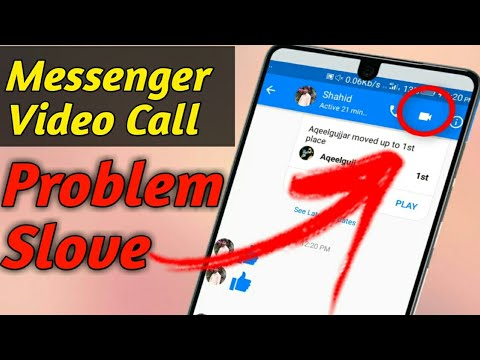 How To Fix Messenger Video Calling Problem Solve