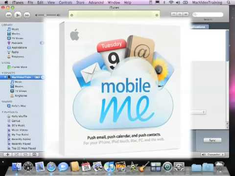 Quick Start Your iPhone - Syncing Contacts Calendars Mail