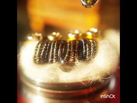The Zipper fused staggerton vape coil build!