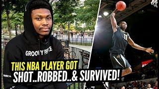 """Shot, Robbed & Survived"