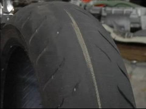 DIY Preventative Motorcycle Maintenance & Safety : Look for Tire-Tread Wear