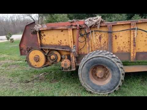 Bought another manure spreader