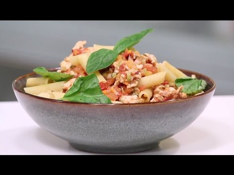 Penne In Chicken Bolognaise | Working Women's Kitchen | Chef Pallavi Nigam | Sanjeev Kapoor Khazana
