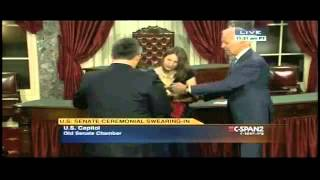Watch Joe Biden creep out a whole new class of Senators   SUPERcuts! #145