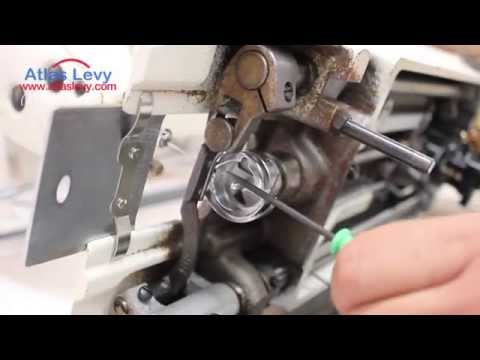 How to fix he Hook Timing on an Industrial  Sewing Machine