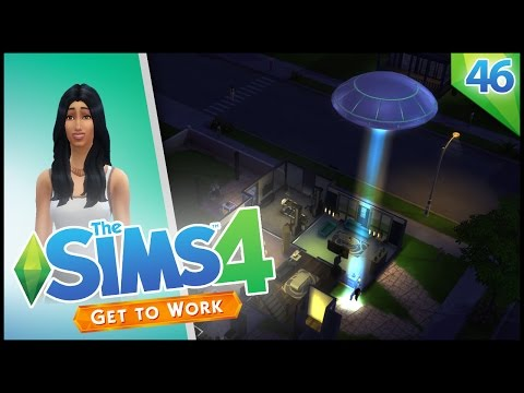 ABDUCTED BY ALIENS! - The Sims 4 - EP 45