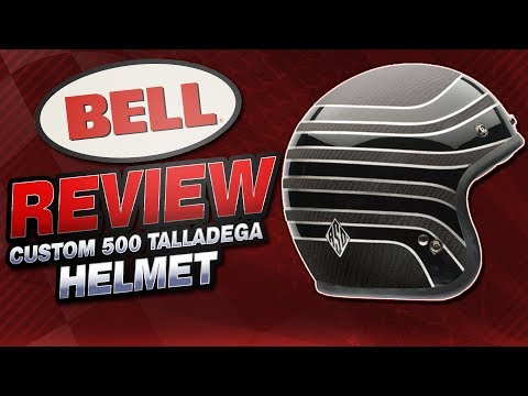 Bell Custom 500 RSD Talladega Helmet Review from SportbikeTrackGear.com