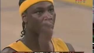 """KWAME BROWN said """"not in my house"""" to YAO MING. +Kobe with an amazing shot. (30.03.2007)"""