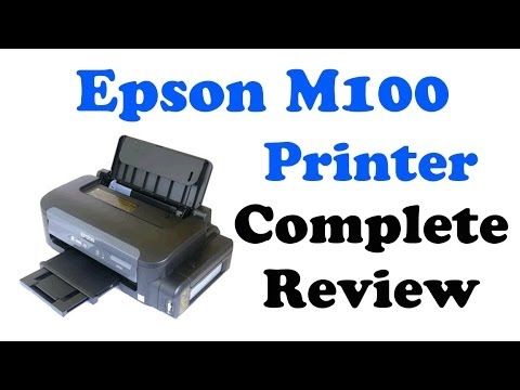 EPSON M100 - COMPLETE REVIEW
