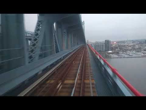 PATCO RFW Finale - City Hall to 8th Market Westbound Rainy