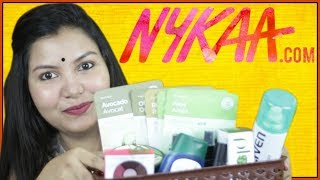 Nykaa sale haul/skin care/hair care/makeup/INDIANGIRLCHANNEL TRISHA