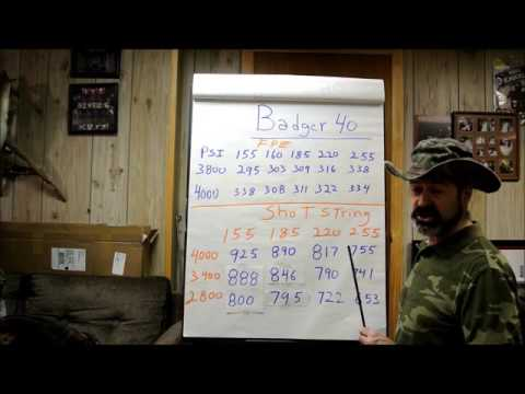Badger 40 Cal Air Rifle part 1