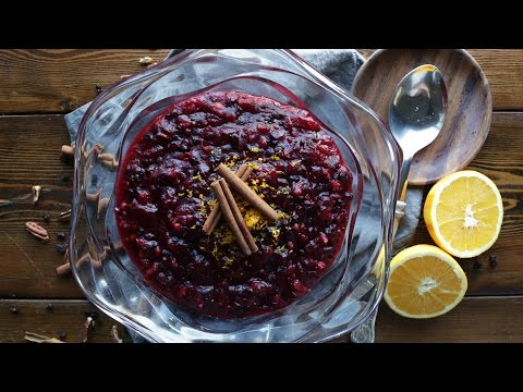 How to Make Homemade Cranberry Sauce with Recipe | The Inspired Home