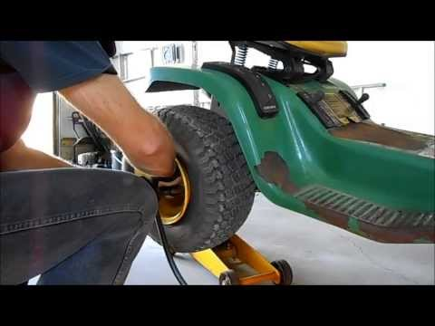Adding Tubes to John Deere Tires Without Removing Wheels