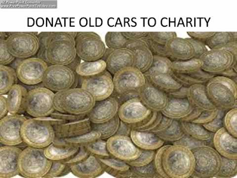 DONATE OLD CARS TO CHARITY