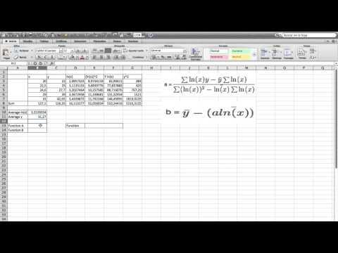 Math Non Linear Regression