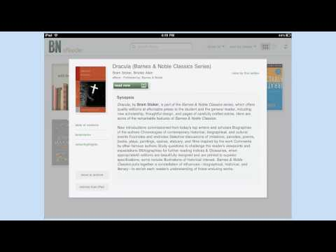 Barnes & Noble iPad eReader
