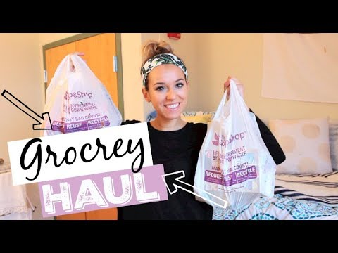 COLLEGE GROCERY HAUL!