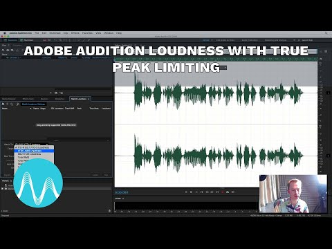 Adobe Audition Loudness with True Peak Limiting