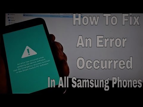 [EASY STEPS] Fix An Error Has Occurred While Updating The Device Software