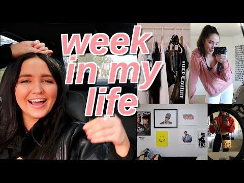 week in my life   how to have a productive healthy week