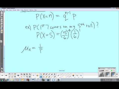 AP Statistics: Section 8.2 - Geometric Random Variables