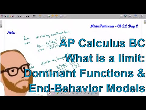 Calculus BC - Dominant Functions and End-Behavior Models