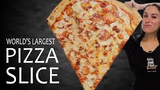worlds largest pizza slice