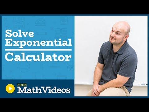 Master Solving Exponential equations by using a calculator