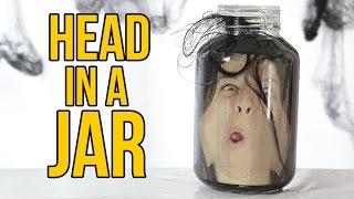 Head In A Jar - HALLOWEEN PRANKS
