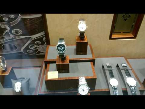 SINGAPORE LUXURY WATCH BOUTIQUES - Every store looks the same!