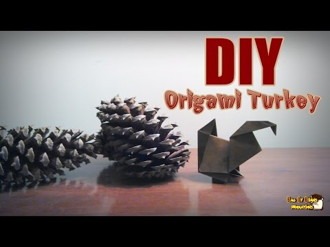 DIY Origami Turkey