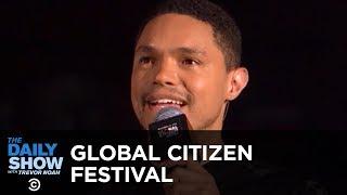 Trevor Hosts the Global Citizen Festival to Honor Nelson Mandela's 100th Birthday | The Daily Show