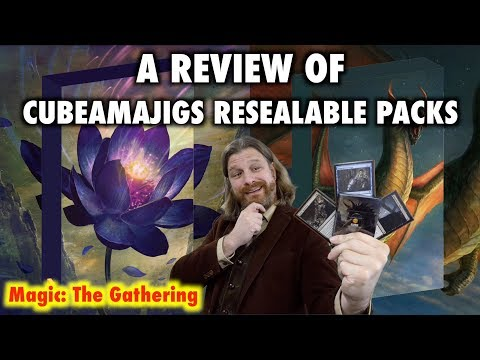 A Review of Cubeamajigs Resealable Magic: The Gathering Packs for Cube