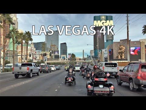 Driving Downtown - Las Vegas 4K - USA