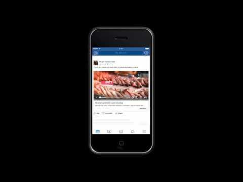 Facebook ad example, slideshow