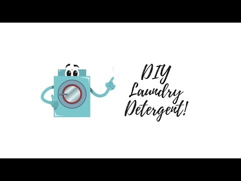 DIY Laundry Detergent Powder Using Young Living Essential Oils