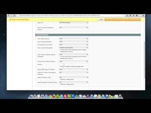 Magento - How to add a dropdown (select) attribute