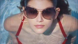 Kaia Gerber Looks Just Like Mom Cindy Crawford in Stunning New Miu Miu Campaign