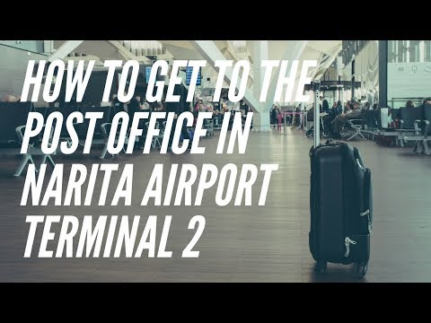 How To Get To The Post Office in Narita Airport Terminal 2 From Arrival Floor [NRT]