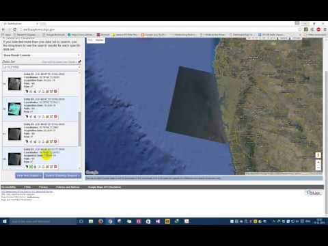 How to download Latest Satellite Images Free USGS