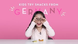 Kids Try Snacks from Germany | Kids Try | HiHo Kids