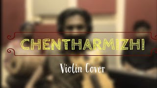 Chentharmizhi Poonthenmozhi | Violin Cover | Perumazhakkalam | Stringularity